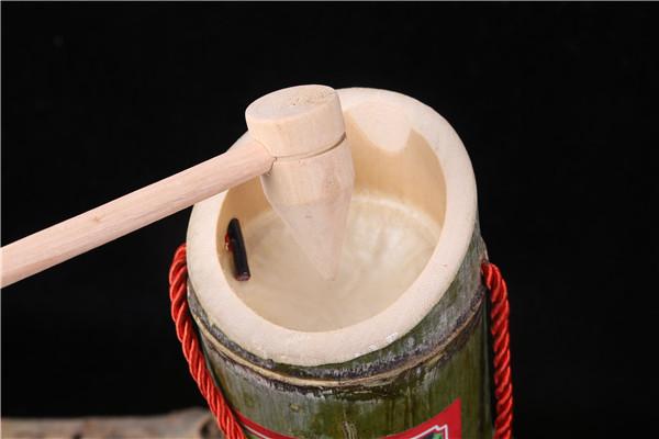 纯天然竹筒酒