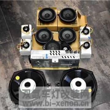 新BMW X4全车音响升级阿曼卡顿喇叭液晶仪表