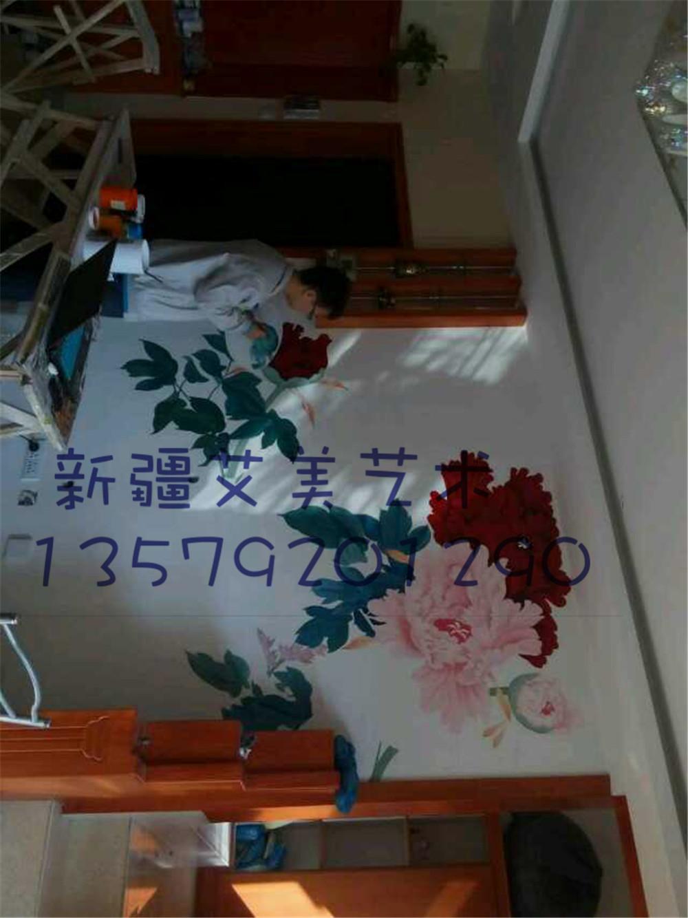 乌鲁木齐墙绘【新疆艾美艺术】乌鲁木齐手绘-乌鲁木齐