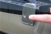 常見前擋玻璃破損圖樣