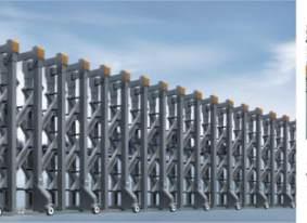 莆田伸缩门 简析电动伸缩门的尺寸的计算方法