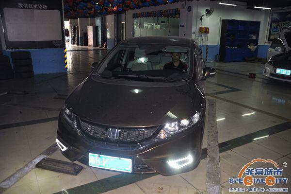深圳非常城市本田杰德汽车音响改装案例