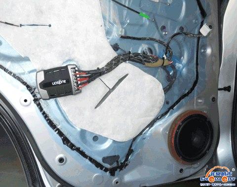 丰田RAV4音响改装升级欧迪臣--原音还原的卓越效果
