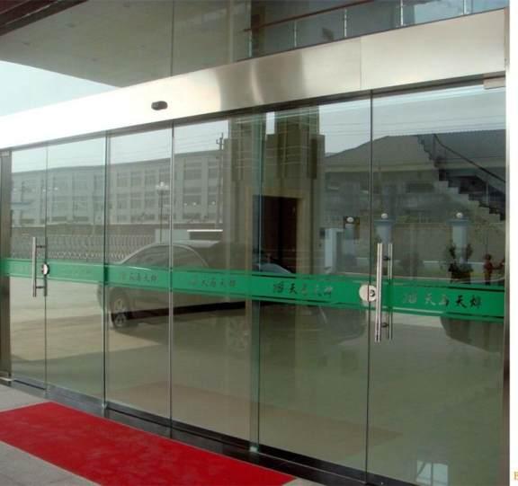 玻璃平移自动门展示二