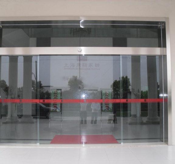 玻璃平移自动门展示三