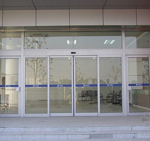 玻璃平移自动门展示七
