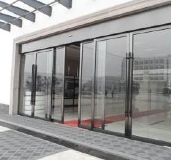 玻璃平移自动门展示五