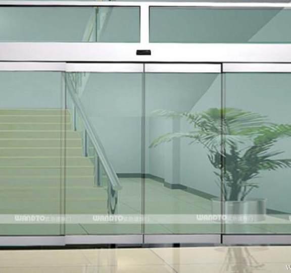 玻璃平移自动门展示四