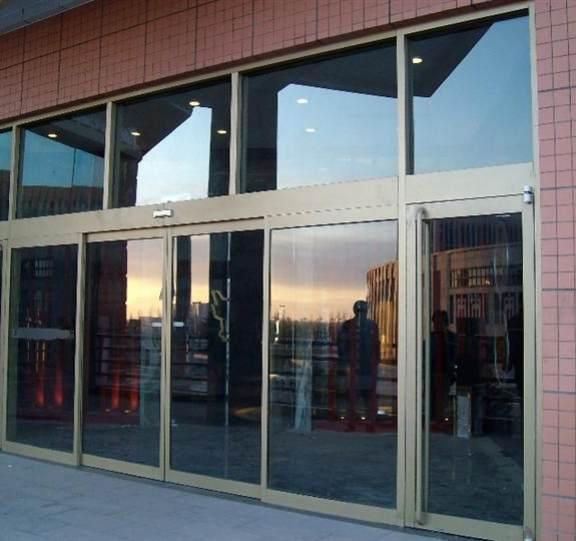 玻璃平移自动门展示八