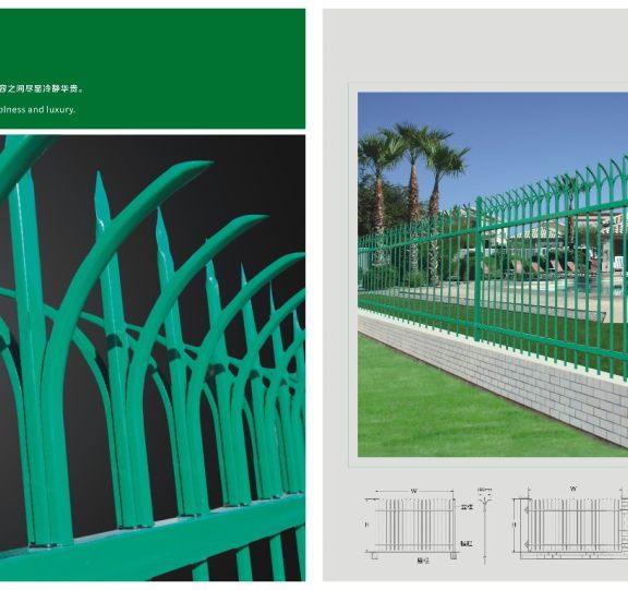 锌钢围栏展示三