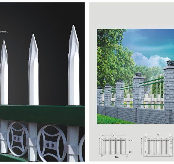 锌钢围栏展示五