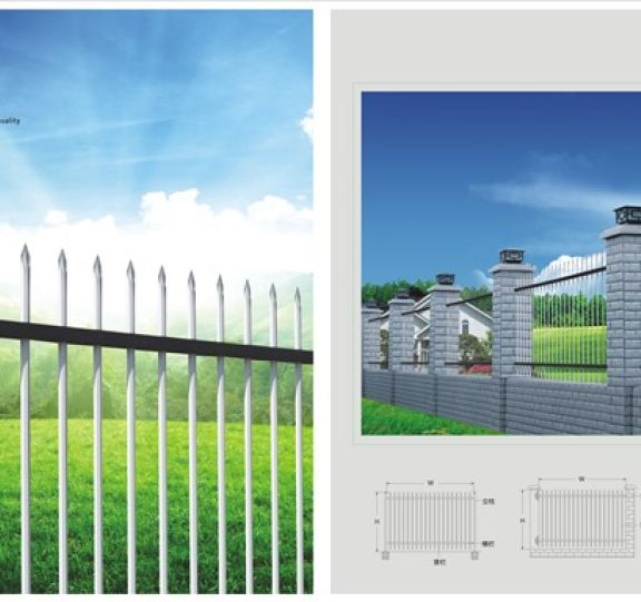 锌钢围栏展示八