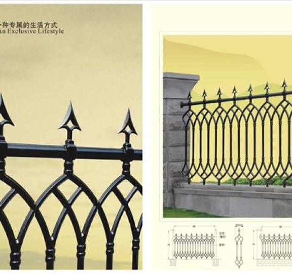 锌钢围栏展示十