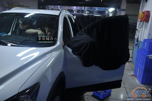 霸气马自达CX5汽车音响改装JBL点燃音乐激情