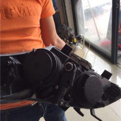 名图升级GTR海拉五双光透镜+进口灯泡进口安定器