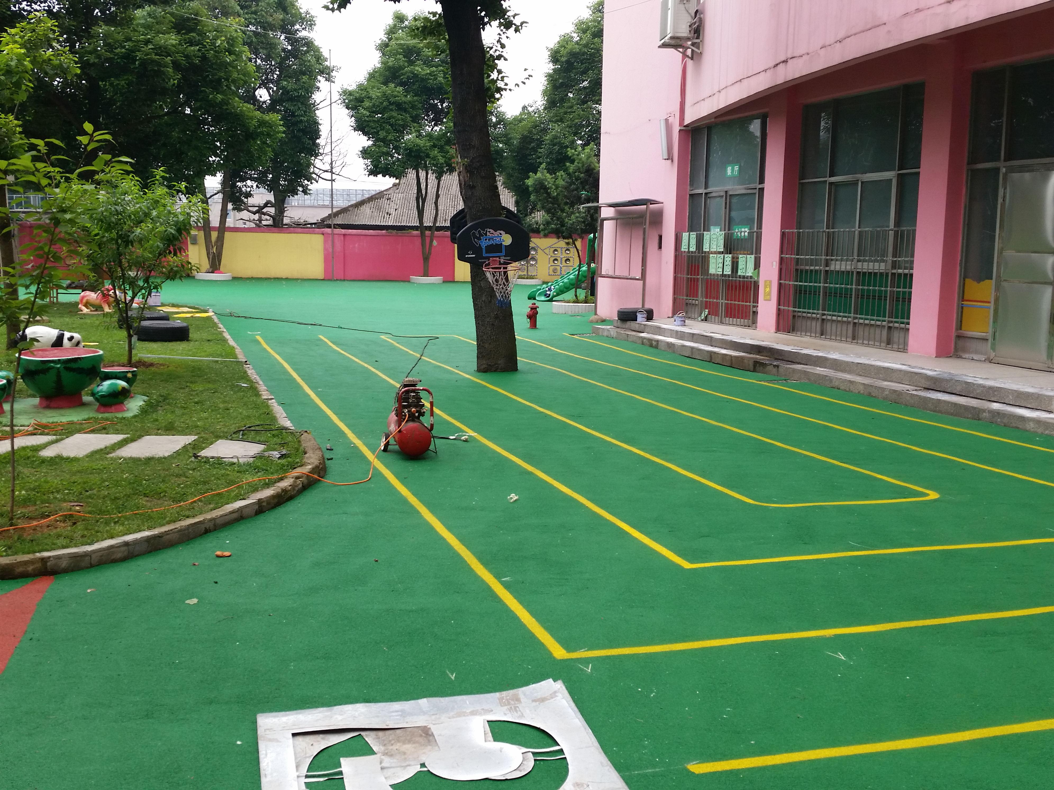 保定PVC地面施工