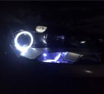 新帕萨特改进口海拉5透镜+天使眼