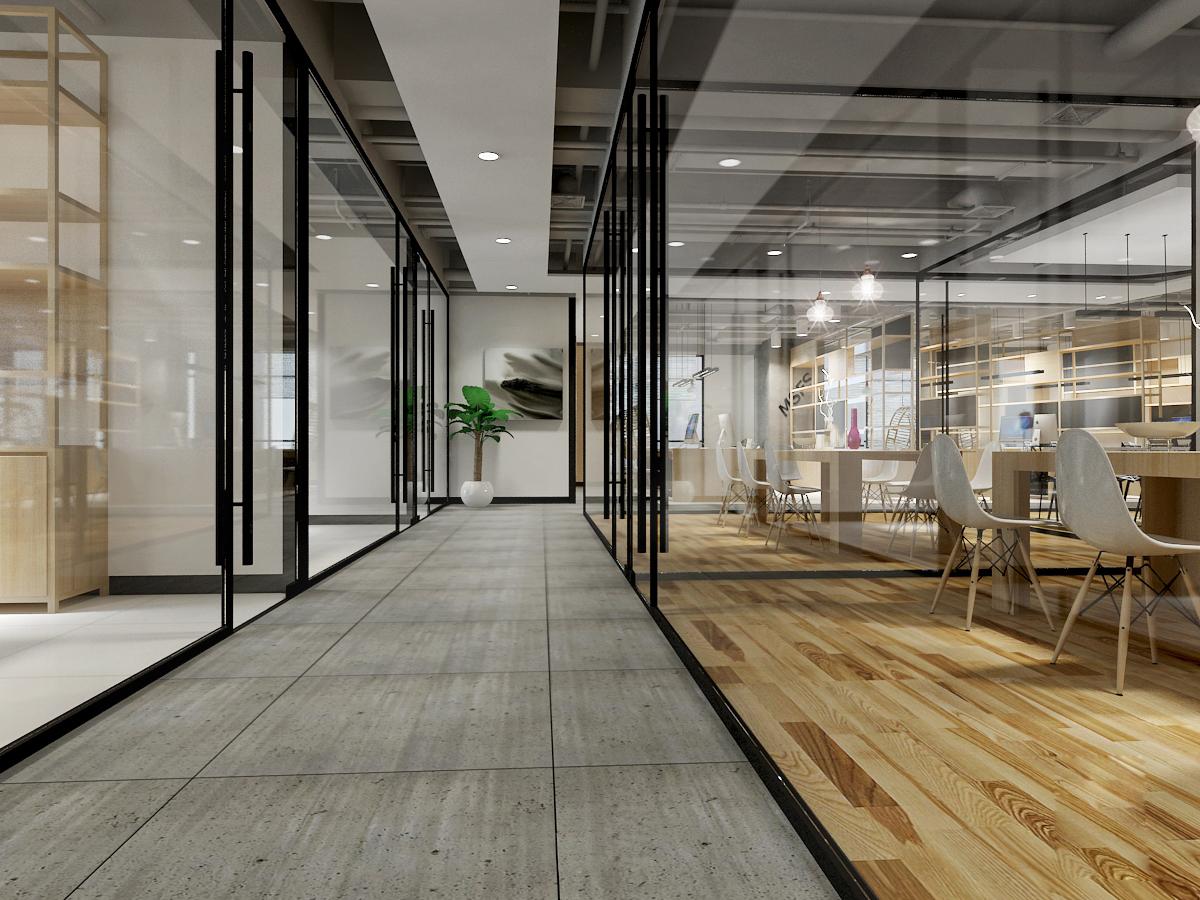 44-1 蒙尚时装办公空间设计-及上设计
