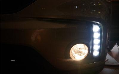 GS4加装 日行灯雾灯