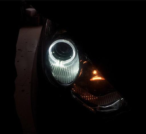 现代ix35升级全新大灯总成