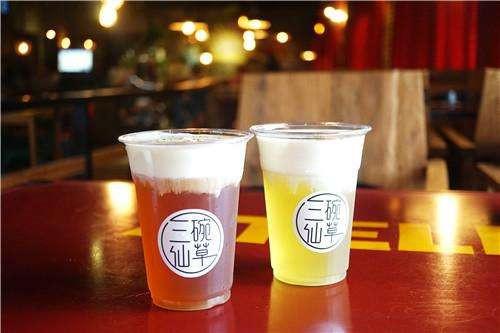 皇茶招牌奶盖茶2