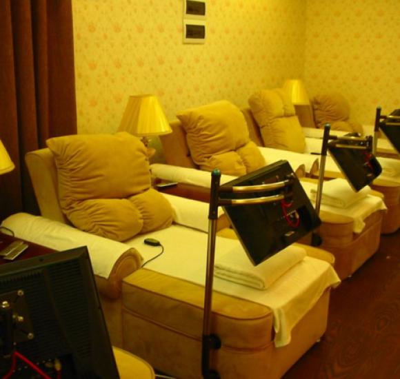 一体式足疗沙发