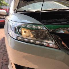 东莞南城凌派改灯,升级GTR海拉五+进口飞利浦套装