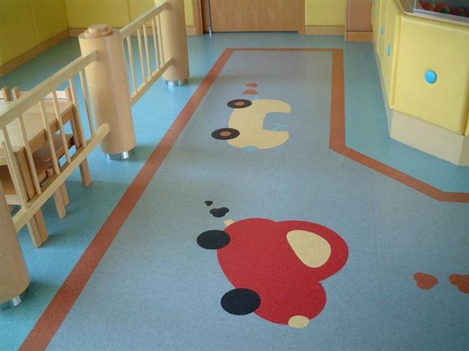 幼儿园的PVC地板