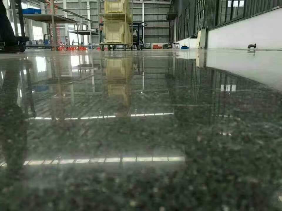 密封固化固化地坪