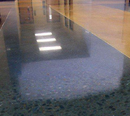 固化地坪施工的效果