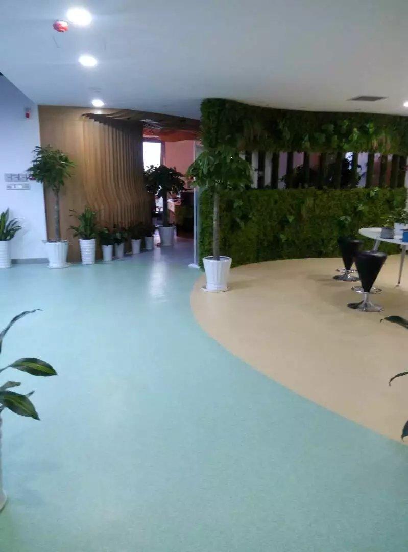 下沙科技公司PVC地坪