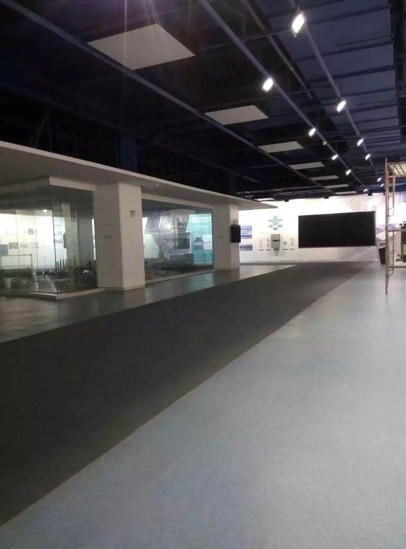 正泰企业展厅地面