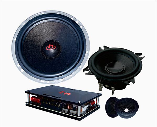 德高PO650.3 三分频套装喇叭