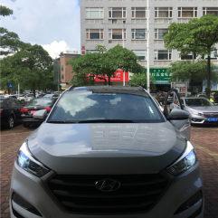 东莞现代途胜改灯,升级GTR海拉五+进口欧司朗安定器+进口欧司朗灯泡