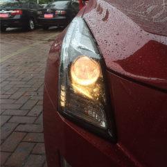 东莞亮点专业改灯,凯迪拉克ATS-L升级GTR海拉五+进口飞利浦安定器+进口欧司朗灯泡+专用日行灯套件