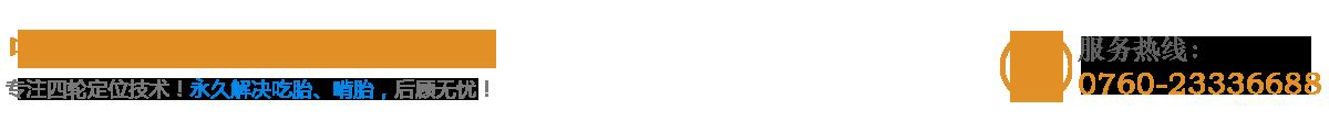 中山市专业汽车四轮定位logo