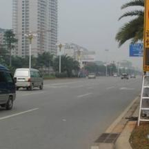 车速反馈标志(市电供电,固定式大尺寸)