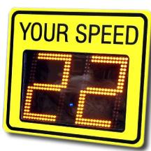 车速反馈标志(市电供电,固定式小尺寸)