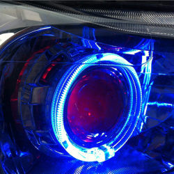 克鲁兹改Q5双光透镜加天使眼加日行灯