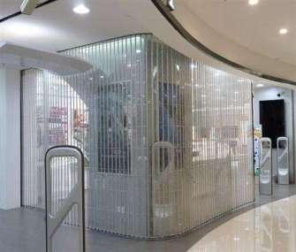 店面水晶门