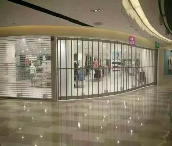 杭州商场水晶门