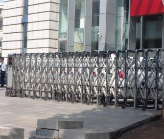 杭州伸缩门工程案例