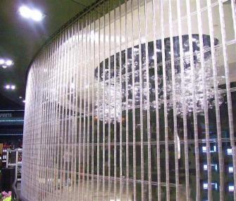 杭州侧向水晶门工程案例
