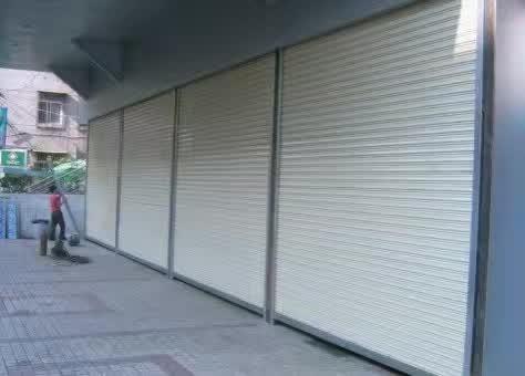 小区型材门