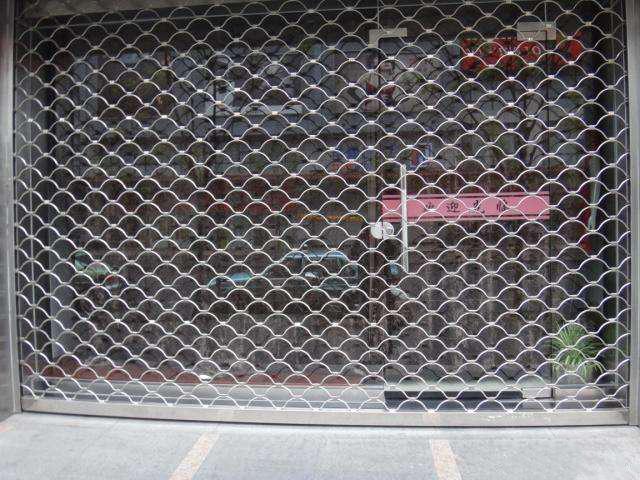 网型门安装