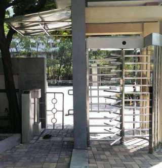 小区门禁系统安装案例