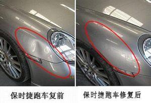 汽车凹陷修复