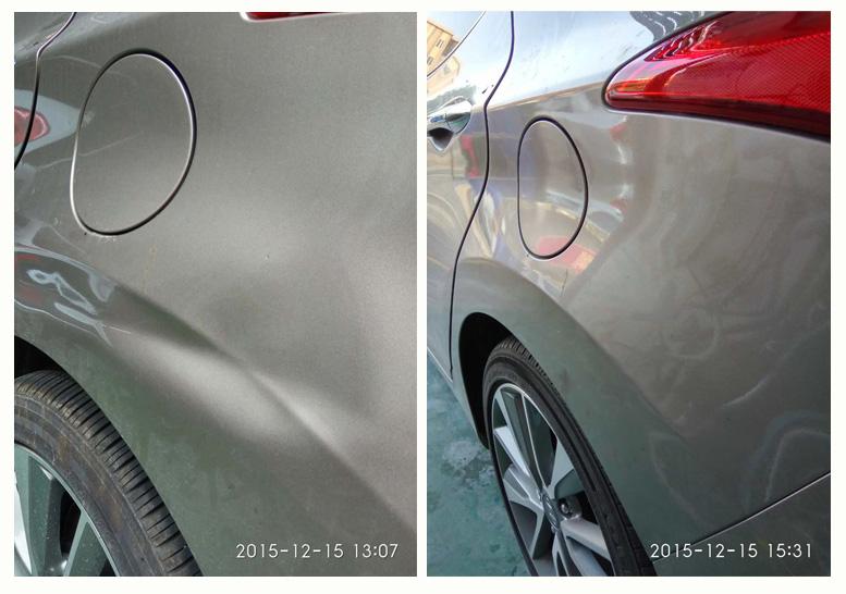 珠海汽车凹坑修复案例二