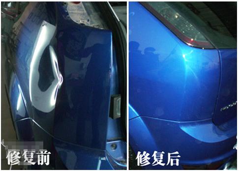 珠海汽车凹坑修复案例六