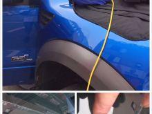 F150玻璃裂痕修復